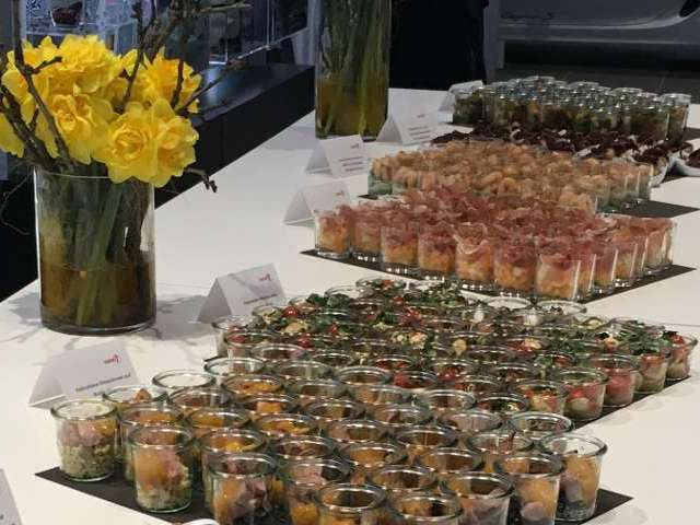 Fingerfood Buffet mit vielen Köstlichkeiten