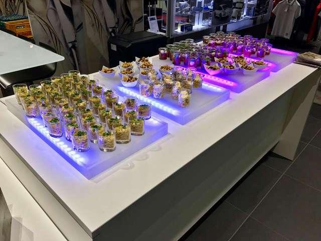 Fingerfood Buffet bei Porsche - einfach Lecker